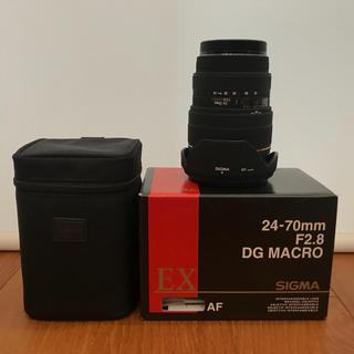 シグマ(SIGMA)のSUGMA 24-70mm F2.8 DG MACRO Canon用(レンズ(ズーム))