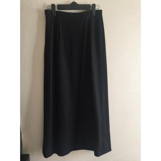 バーニーズニューヨーク(BARNEYS NEW YORK)のpetit petit様専用 黒マキシ丈スカート(ロングスカート)
