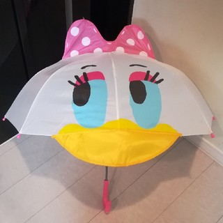 ディズニー(Disney)のデイジー ピンクリボン傘 47cm(傘)