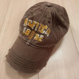 アバクロンビーアンドフィッチ(Abercrombie&Fitch)のアバクロ キャップ(帽子)ダメージ加工(キャップ)