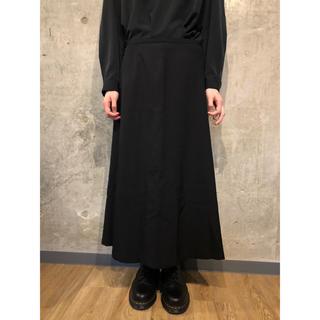 ヨウジヤマモト(Yohji Yamamoto)のヨウジヤマモト ウールギャバ ロングスカート [146] (ロングスカート)