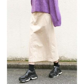 ローリーズファーム(LOWRYS FARM)のLOWRYS FARMコーデュロイaラインスカート(ロングスカート)
