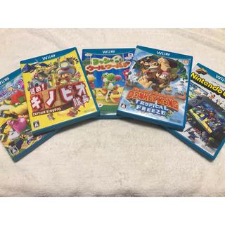 Wii U - Wii U ソフト 5本セット