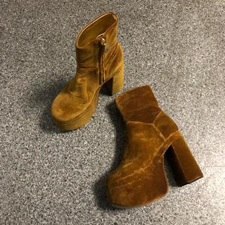 ヴィヴィアンウエストウッド(Vivienne Westwood)のFREDDY アンクルブーツ(ブーツ)