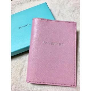 ティファニー(Tiffany & Co.)の【試着のみ】ティファニー♡パスポートケース(旅行用品)