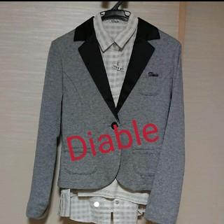 ディアブル(Diable)の値下げしました☆Diable☆ジャケット・ブラウス・ベスト3点set(ドレス/フォーマル)