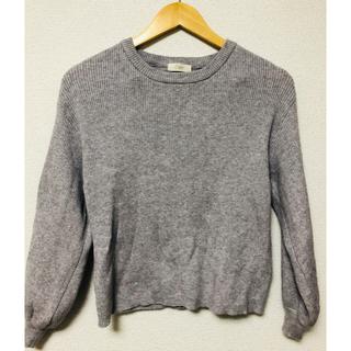 セポ(CEPO)の袖ボリュームリブ切替プルオーバー(ニット/セーター)