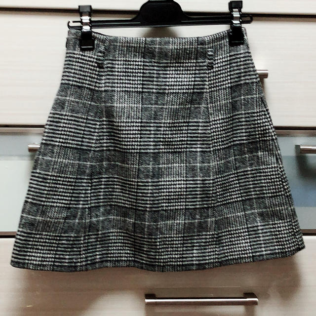 MERCURYDUO(マーキュリーデュオ)のグレンチェック ミニスカート レディースのスカート(ミニスカート)の商品写真