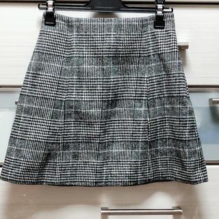 マーキュリーデュオ(MERCURYDUO)のグレンチェック ミニスカート(ミニスカート)
