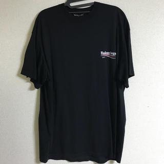 バレンシアガ(Balenciaga)のBalenciaga キャンペーンロゴTシャツ(Tシャツ/カットソー(半袖/袖なし))