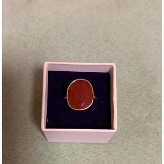 レッドオニキスリング  約11号(リング(指輪))