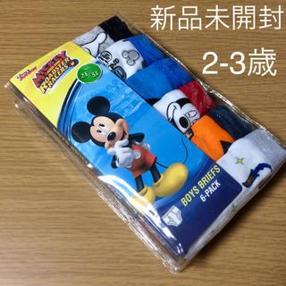 Disney - ☆大人気☆男の子 2-3歳 ディズニーパンツ 6枚セット ミッキー 新品