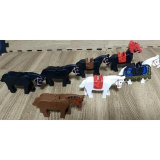レゴ(Lego)のレゴ 馬 7頭セット 馬具付き(知育玩具)