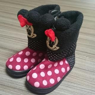 ディズニー(Disney)の新品ディズニーミニーマウスブーツ12~13㌢(ブーツ)
