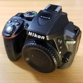 Nikon - 美品 nikon d5300 ボディ バッテリー2個 リモコン 一眼レフ