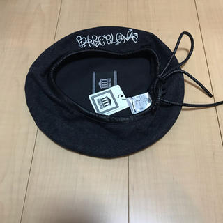 パメオポーズ(PAMEO POSE)のPAMEO POSE デニムベレー帽(ハンチング/ベレー帽)
