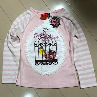 シマムラ(しまむら)のキッズ カットソー 長袖シャツ 110センチ(Tシャツ/カットソー)