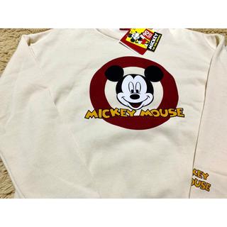 Disney - ミッキーマウス 90周年★裏起毛 トレーナー