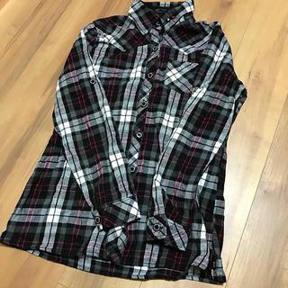 シマムラ(しまむら)の美品♡チェックシャツ(シャツ/ブラウス(長袖/七分))