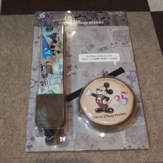 ディズニー(Disney)のディズニーリゾート☆ミッキー35周年カメラストラップ(デジタル一眼)