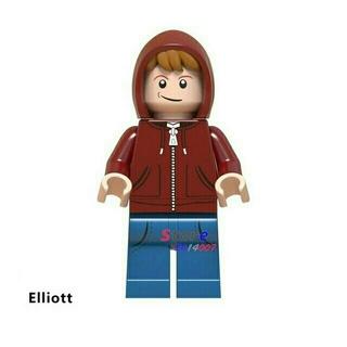 レゴ(Lego)のレゴ互換 ミニフィグ エリオット 映画「E.T.」 購入申請不要 即購入可(知育玩具)