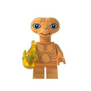レゴ(Lego)のレゴ互換 ミニフィグ E.T. 購入申請不要 即購入可(知育玩具)