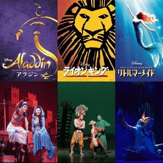 ディズニー(Disney)の劇団四季ギフト22572円分(ミュージカル)