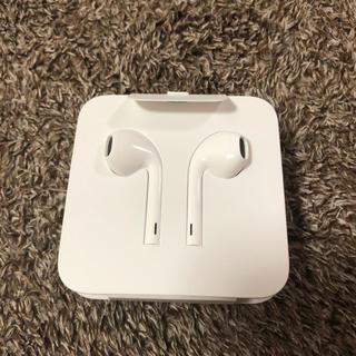 アップル(Apple)のiPhone8 純正イヤホン 【 新品未使用】(ヘッドフォン/イヤフォン)