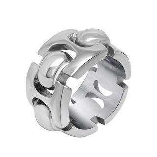 指輪 メンズ クロムハーツ風 リング ファッション アクセサリー(リング(指輪))