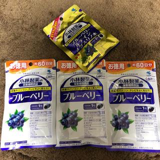 コバヤシセイヤク(小林製薬)の小林製薬 ブルーベリー 60日分×3☆おまけ付(その他)