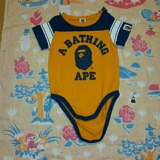 アベイシングエイプ(A BATHING APE)のAPE エイプ ロンパース 70(ロンパース)