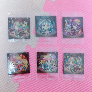 モンスト シール 6枚(カード)