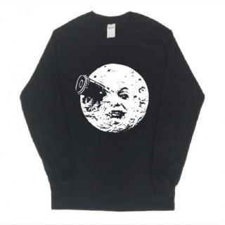 月 イラスト 長袖 ロングTシャツ git62(Tシャツ/カットソー(七分/長袖))