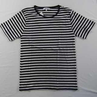 【新品】ROCK SITE クルーネックTシャツ 綿100% L (47)(Tシャツ/カットソー(半袖/袖なし))