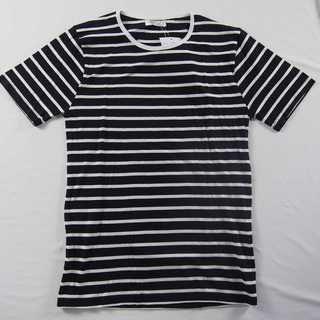 【新品】ROCKSTE クルーネックTシャツ B&W 綿100% XL (47)(Tシャツ/カットソー(半袖/袖なし))
