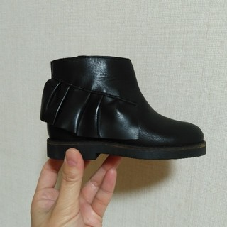 ザラキッズ(ZARA KIDS)のザラベビー フリルブーツ(ブーツ)