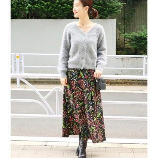 IENA - 【今期新作】IENAイエナ★chere SPRINTEX フラワースカート