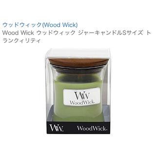 WoodWick キャンドル(キャンドル)