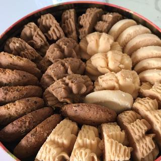 行列店のクッキー【ジェニーベーカリー 4mix 320 g】