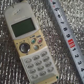 【送料無料】【アンティーク】PHS 携帯電話 東芝バッテリー付き   先着1名様(PHS本体)