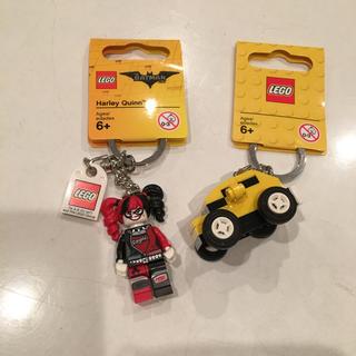 レゴ(Lego)のLEGO クルマ&ハーレイクイーン キーホルダー 2個セット キーチェーン (積み木/ブロック)
