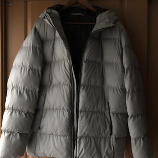 ジーユー(GU)のフード付き中綿ジャンパー メンズ XXL (ブルゾン)