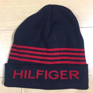 トミーヒルフィガー(TOMMY HILFIGER)のTOMMY HILFIGER DENIM トミーヒルフィガー ニット帽 ビーニー(ニット帽/ビーニー)