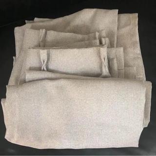 ムジルシリョウヒン(MUJI (無印良品))の無印良品 遮光カーテン/ レースセット 100cm×200cm *4(カーテン)