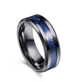 ドラゴンデザイン指輪 リング 龍紋 竜 メンズ ステンレス チタンリング (リング(指輪))