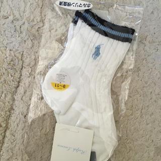 ラルフローレン(Ralph Lauren)の新品未使用  ラルフローレン  靴下(靴下/タイツ)