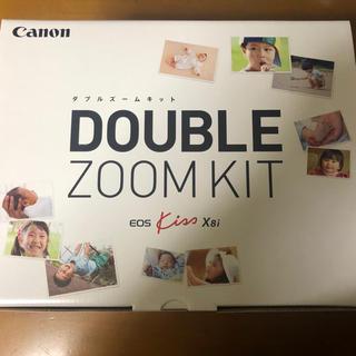 Canon - ■新品未使用■ Canon EOS KISS x8i ダブルズームキット