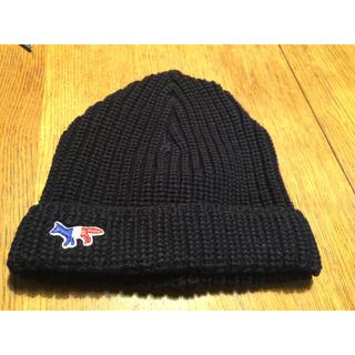 メゾンキツネ(MAISON KITSUNE')のメゾンキツネ ニット帽(ニット帽/ビーニー)
