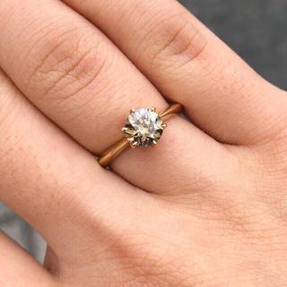 新春セール 大粒ダイヤモンドリング(リング(指輪))