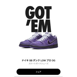 NIKE - Nike SB ダンク purple lobstar